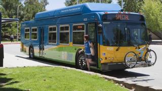 Golden Empire Transit Bus