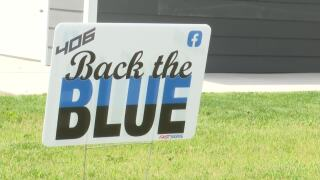 """""""406 Back The Blue"""" campaign takes off"""