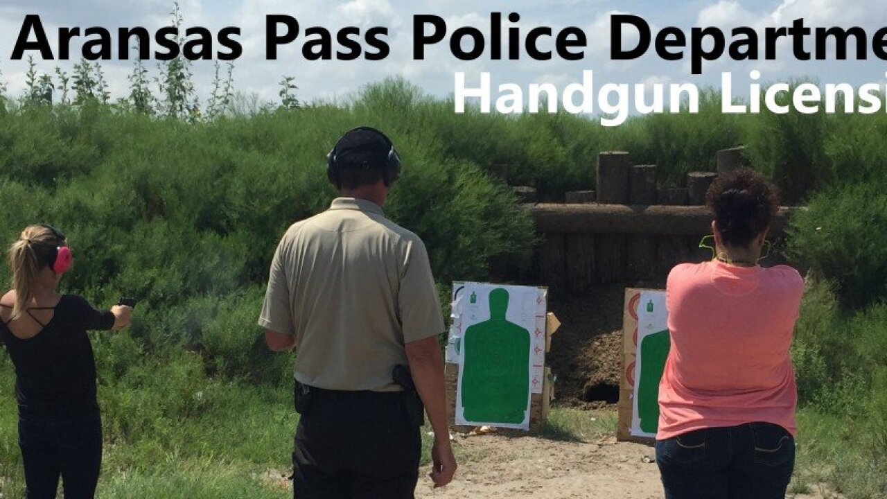 Aransas Pass Police Department Handgun Licensing class