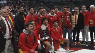 Sights & Sounds: State Wrestling Championships
