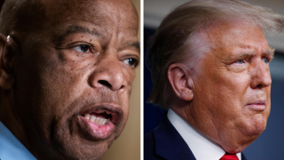 Trump says he isn't sure what Rep. John Lewis' legacy will be