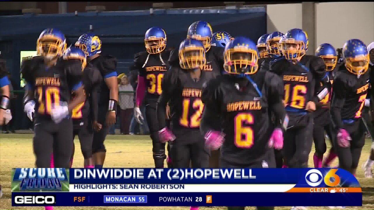 Henderson leads Hopewell past Dinwiddie to remain unbeaten