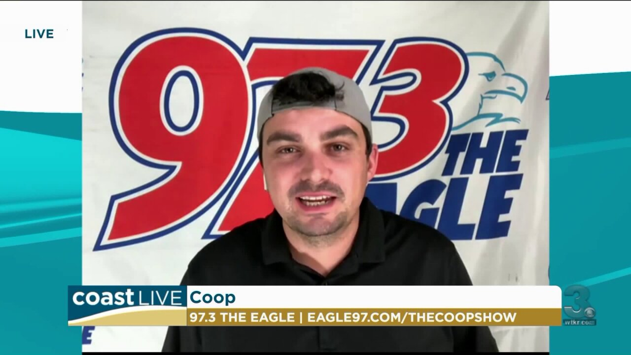 Coop from Eagle 97.3 talks country news and Garth's new song on Coast Live