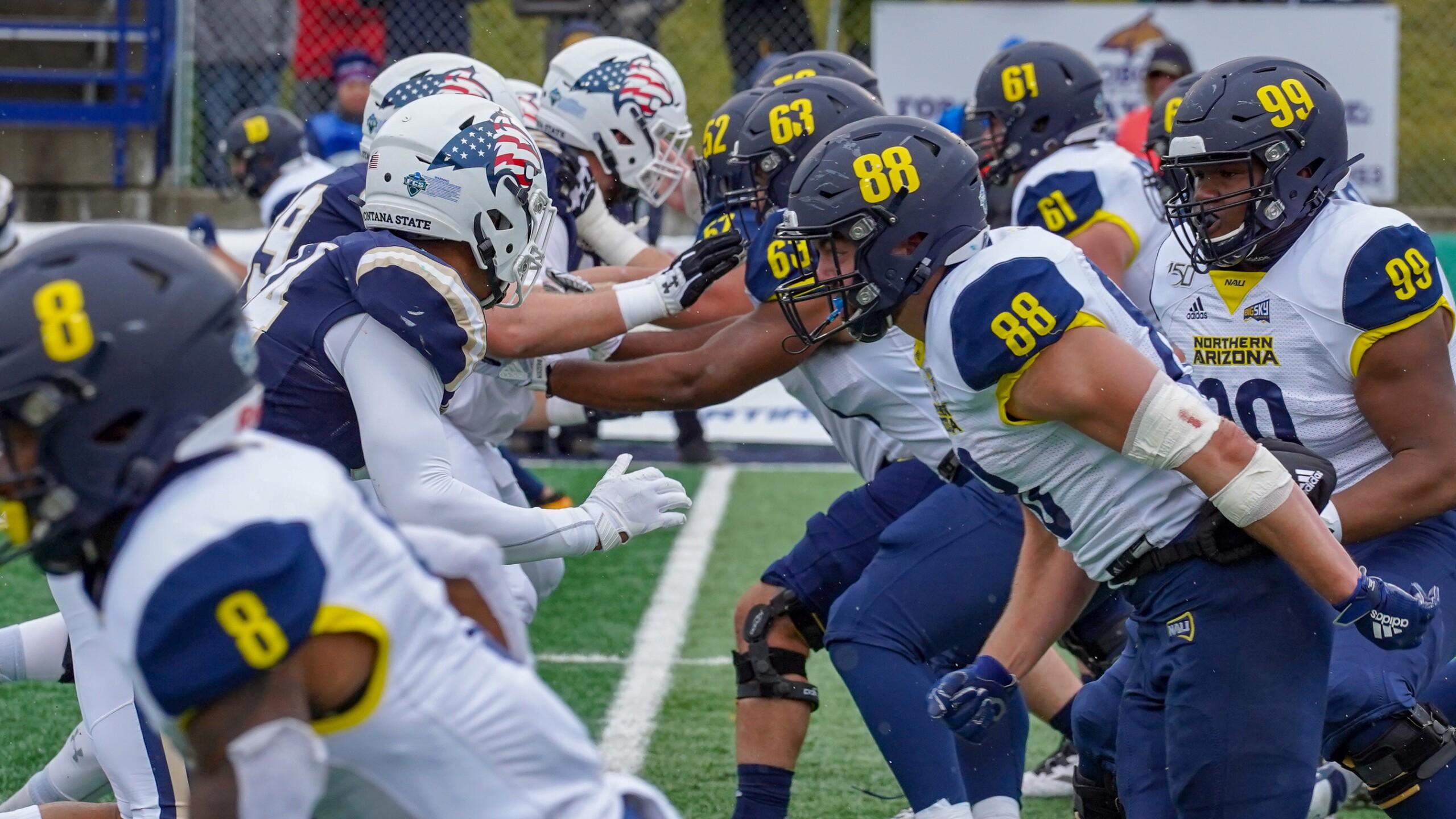 Montana State defensive line