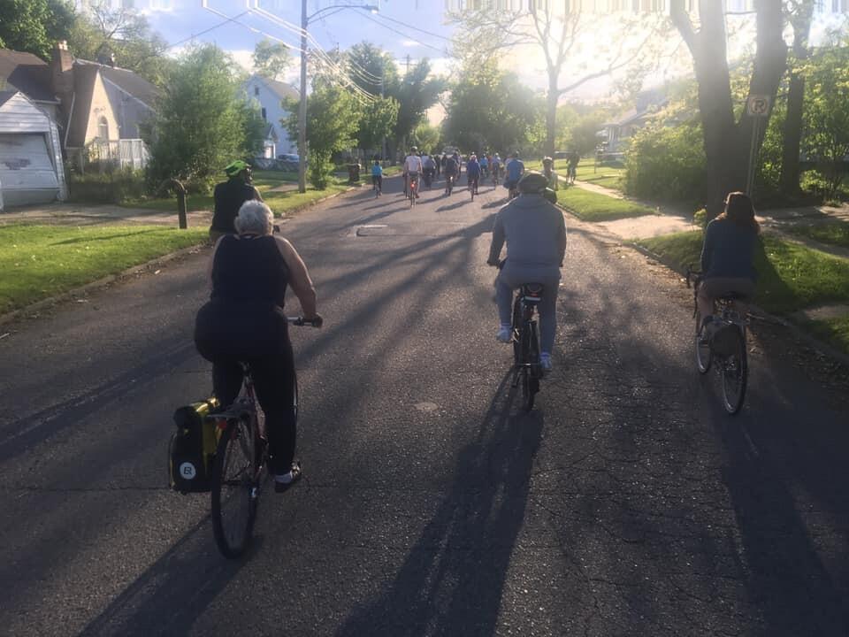 Lansing Bike Party