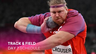 Track & Field Day 7: Crouser, Kovacs to clash in shot put