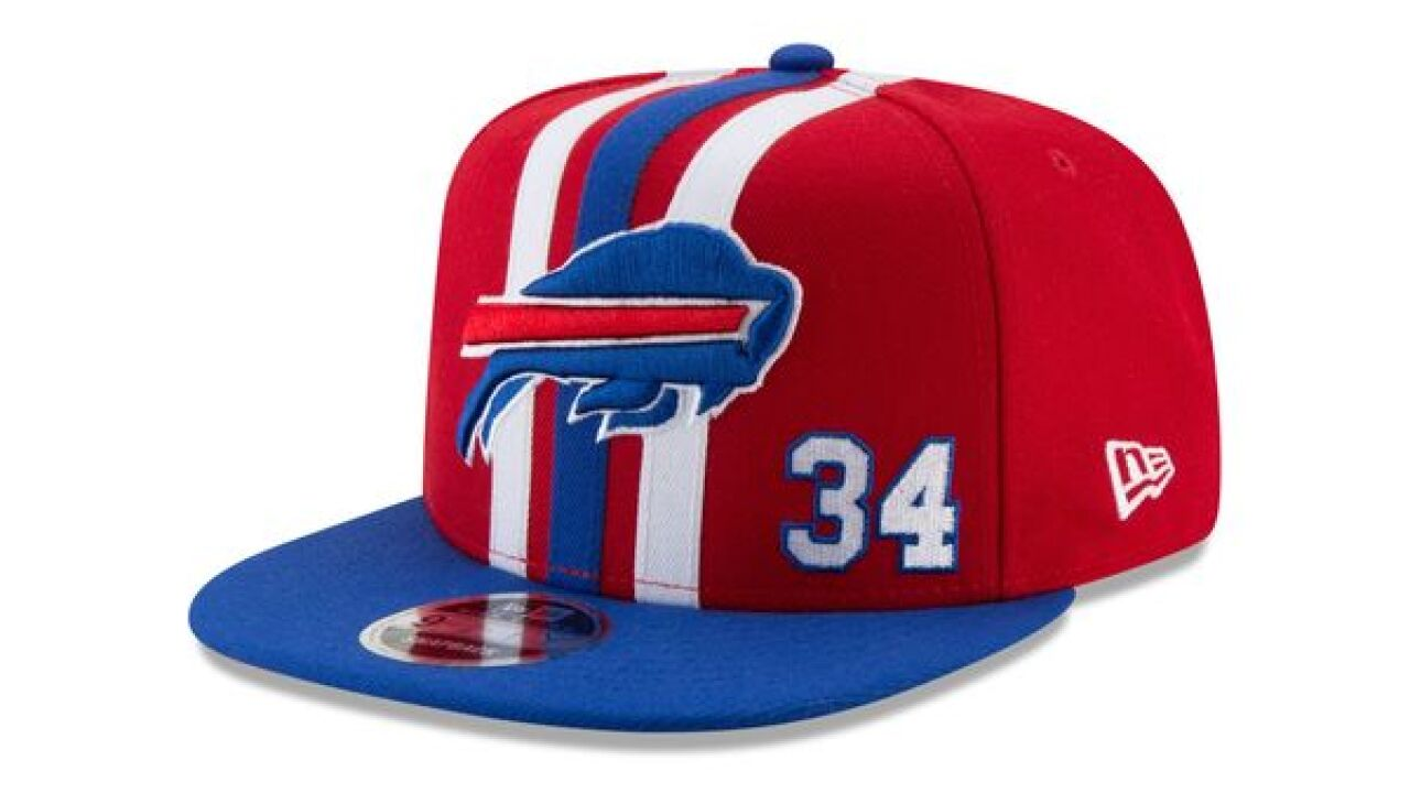One Night Only! Bills fans will be able to buy these limited edition  Thurman Thomas hats a30db97a25a