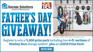 Garage Solutions Central Kentucky Father's Day Giveaway!