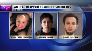 Oregon police looking for missing two year old after Flathead murder-suicide