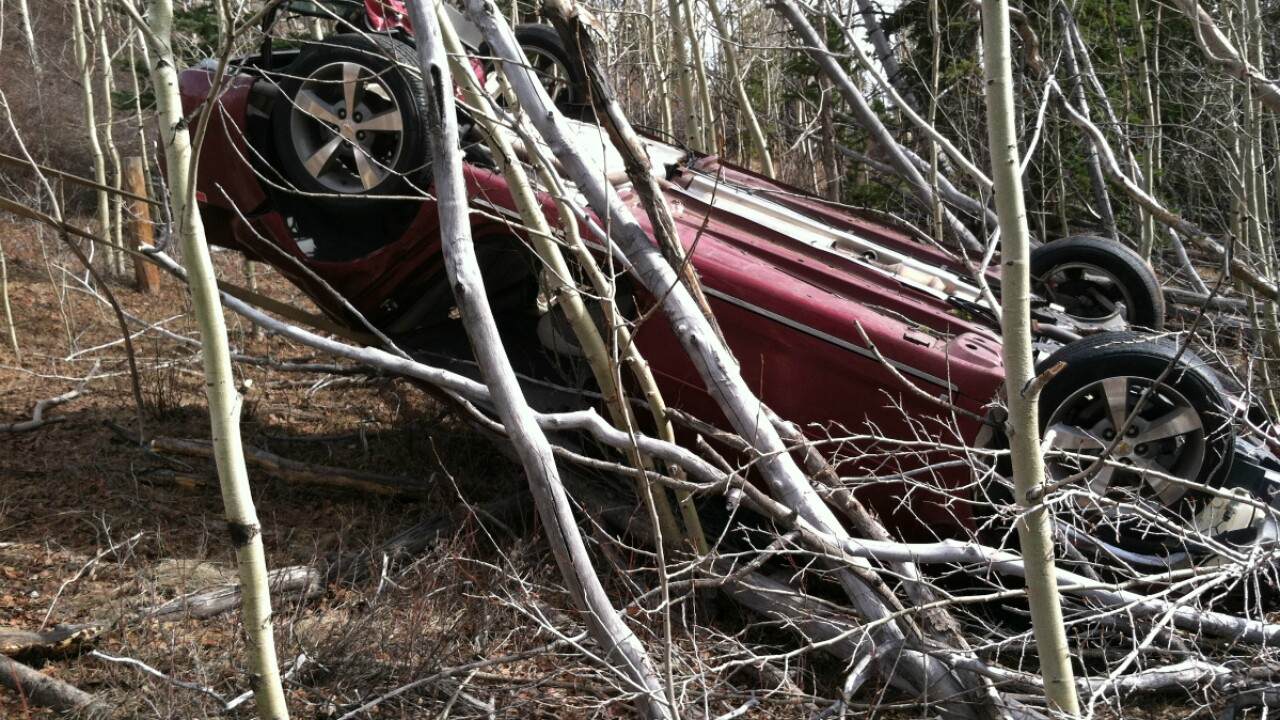 Mom survives five days in wrecked car