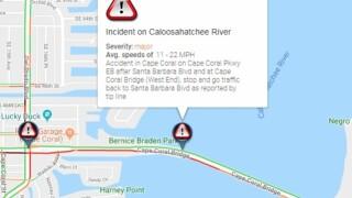 8c52f9798f Crash causes lengthy backup on Cape Coral Bridge