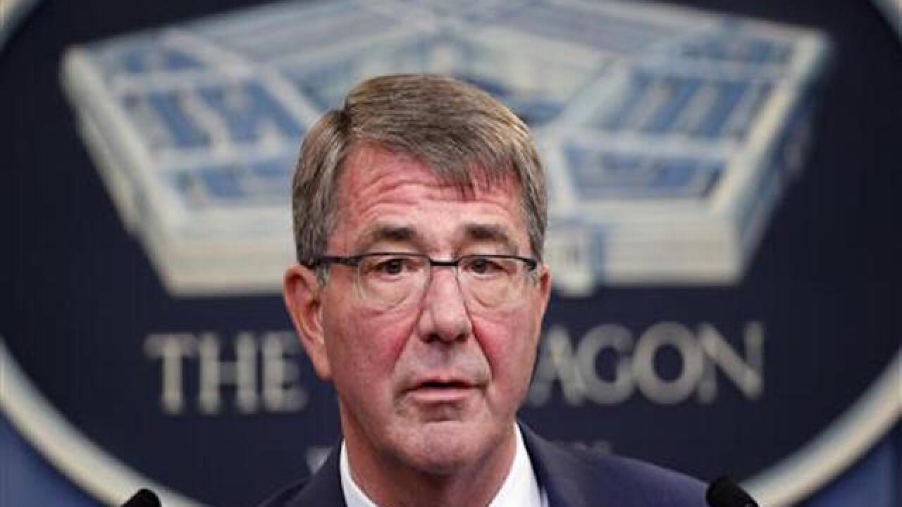 US to send 560 more troops to Iraq, Carter says