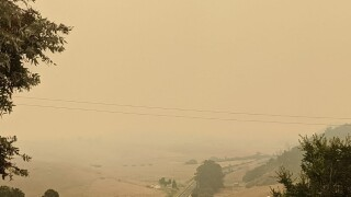 Cambria smoke skies