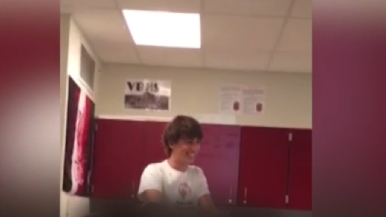 Student disqualified from class president race after speech at Vero Beach High School