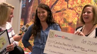 Hawthorne Elementary School awarded One Class At A Time check