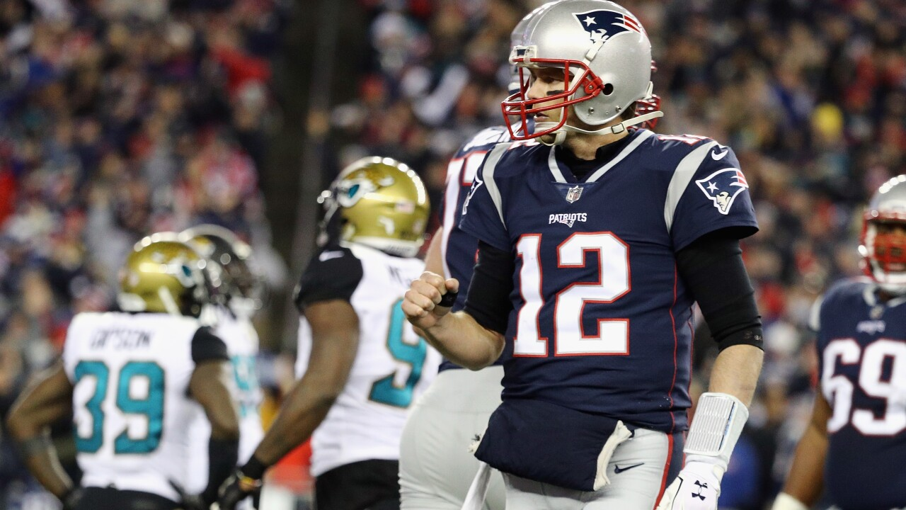 Patriots rally from fourth quarter deficit to top Jaguars 24-20, advance to second straight Super Bowl