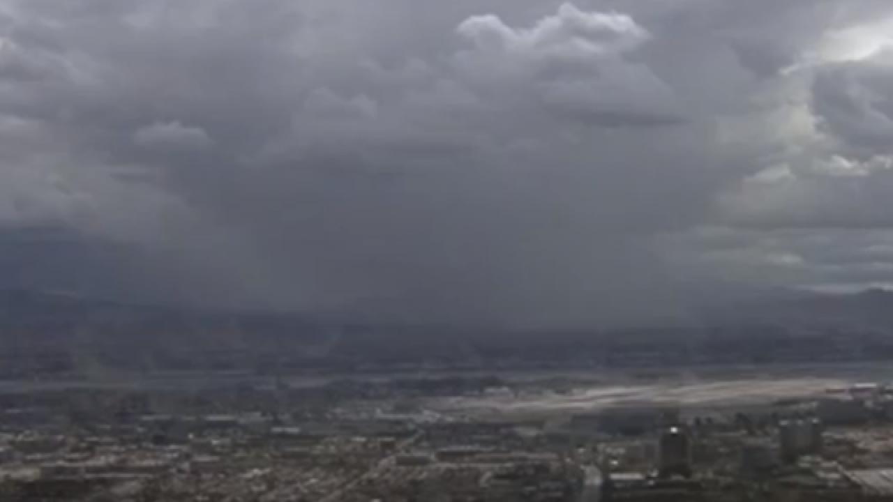 Remnants of Rosa may bring rain to Vegas