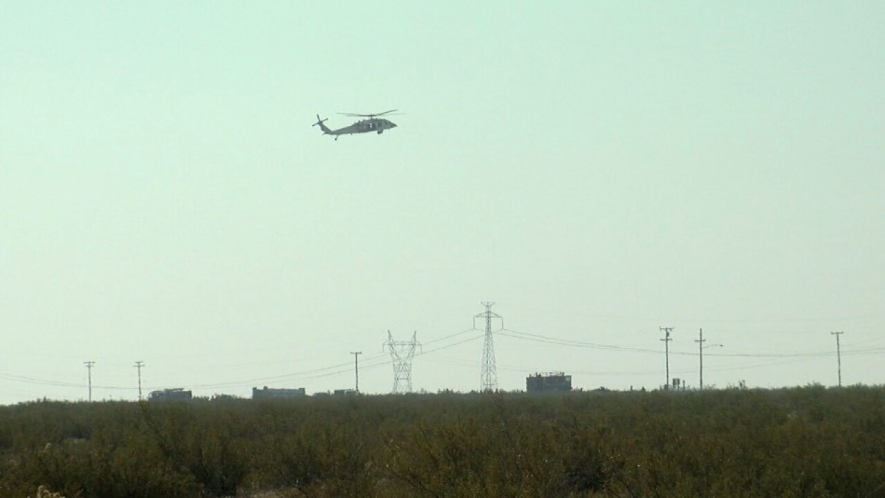 KCFD on scene of a plane crash west of Ridgecrest, off Hwy. 178 and 14