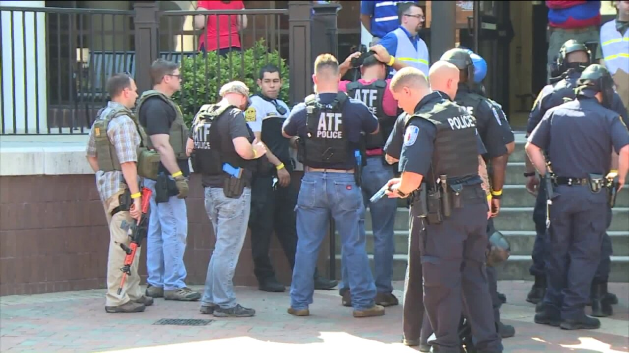 Simulated gunfire heard during VCU active shooter drill