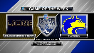 Friday Football Fever: Game of the Week - Colorado Springs Christian @ Florence