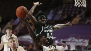 Michigan St Minnesota Basketball Gabe Brown