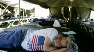 Veteran homelessness decreasing
