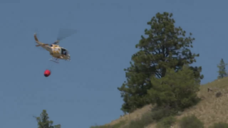 DNRC helicopter crashes responding to Deep Creek Fire
