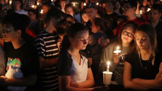 Vigil for Parkland victims.