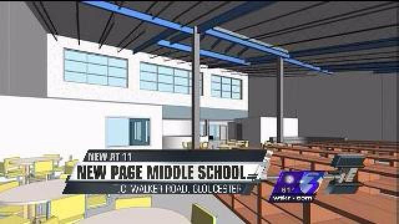 Groundbreaking ceremony to be held for Page Middle School Monday
