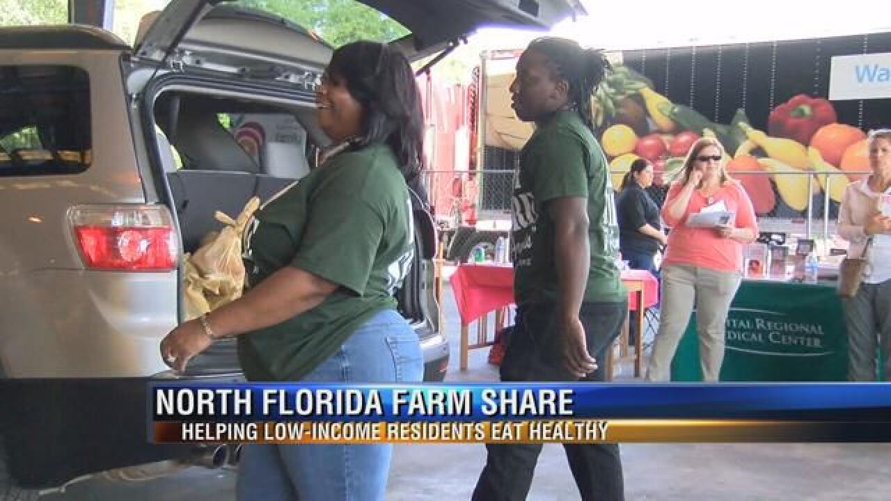 Farm Share Distributes Over 100,000 Pounds of Food to Big Bend Families