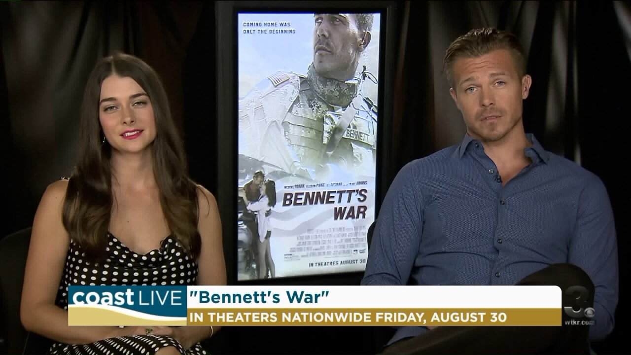 "Stars of the new movie ""Bennet's War"" on CoastLive"