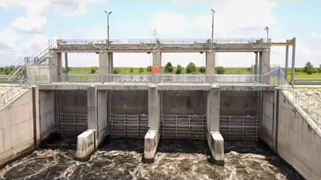 Lake O discharges temporarily stop Thursday