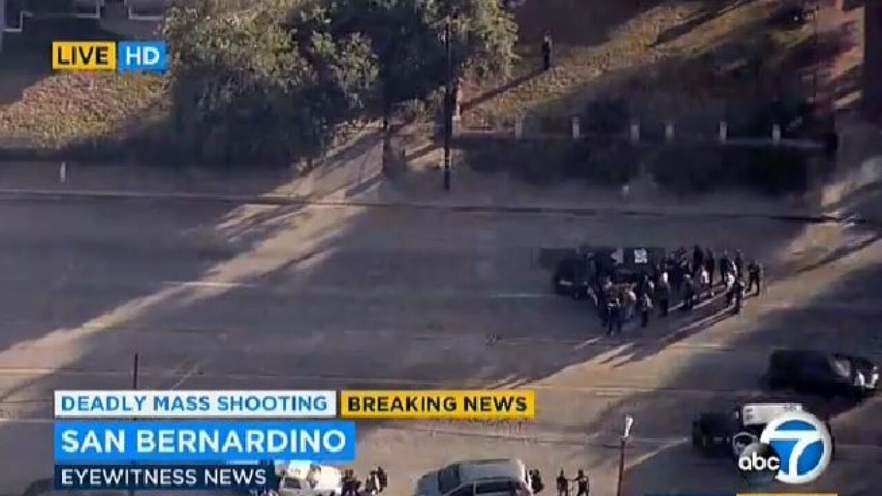 LIVE VIDEO: Multiple casualties reported in California shooting