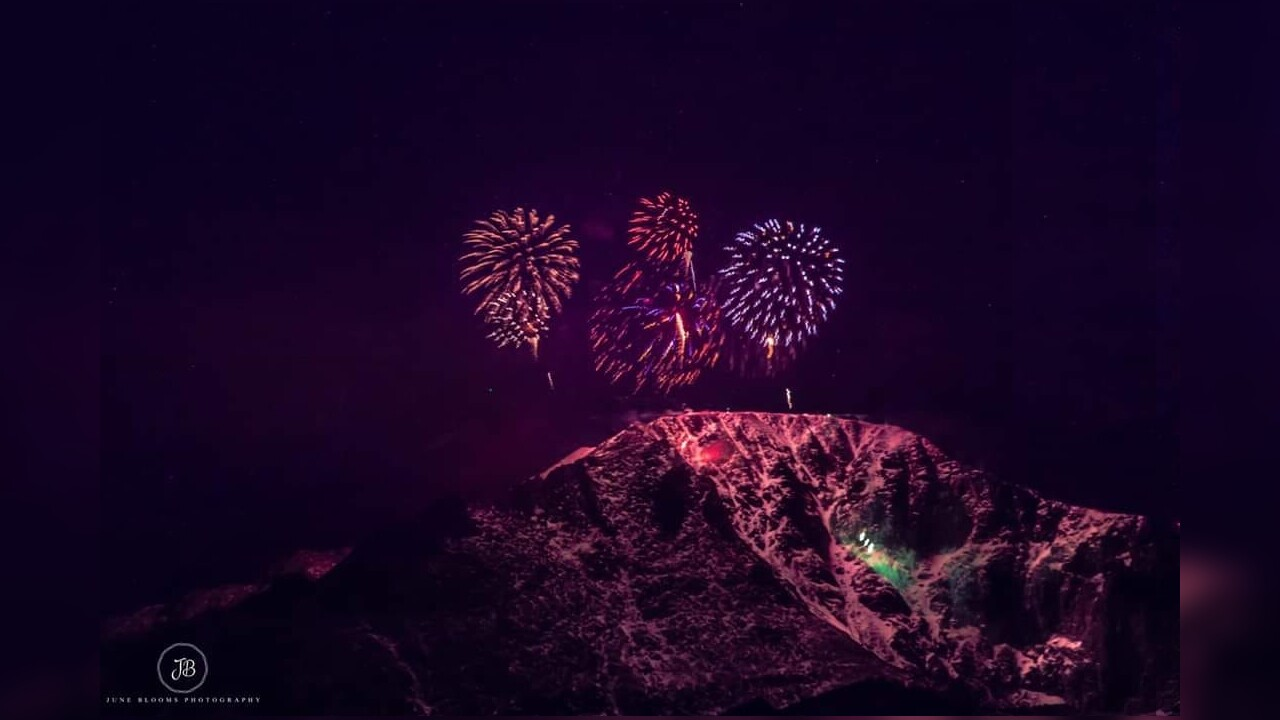 New Years Eve Fireworks on Pikes Peak from June Blooms Photography.jpg