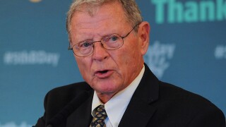 Sen. Inhofe to discuss bill to fund border wall