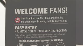 Bills Stadium Rules