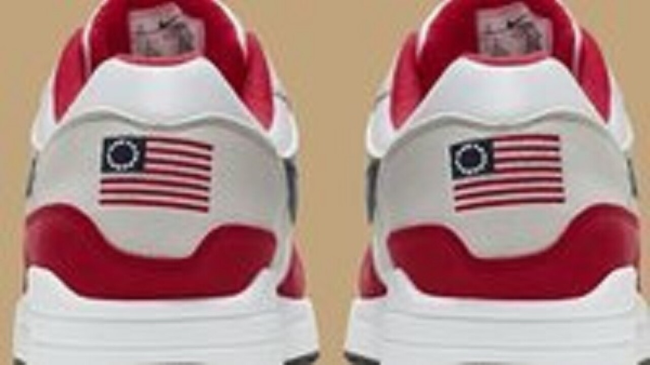 Nike cancels shoe featuring old version of flag after Colin Kaepernick says it's offensive
