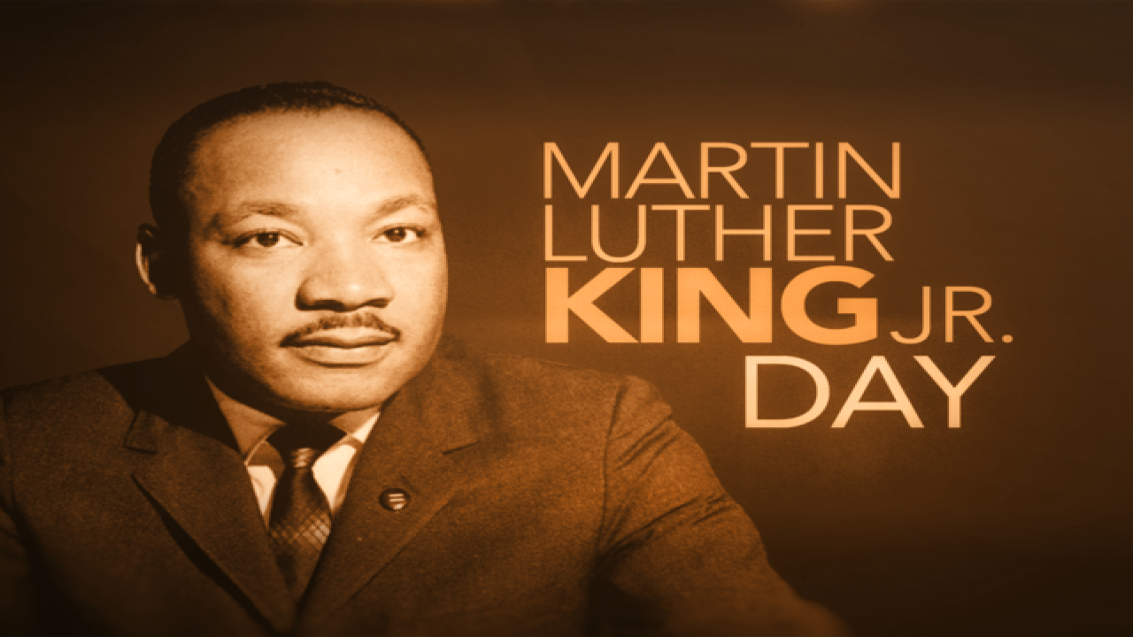 martin luther king jr weekend 2020
