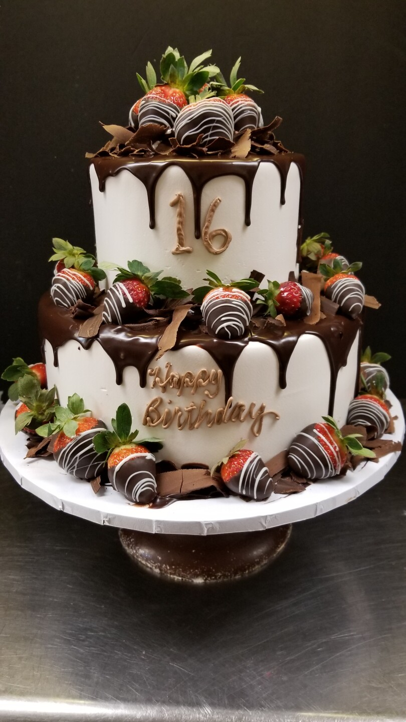 Elite Sweets Two Tiered Cake