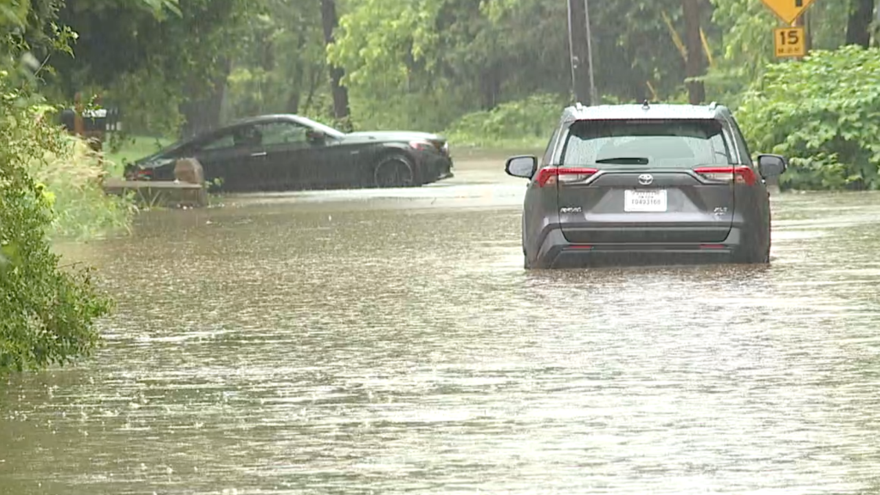 Road closures, water rescues and evacuations as heavy rain hits Baltimore area