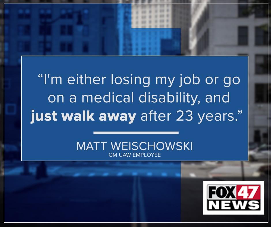 Matt Weischowski, GM UAW Employee
