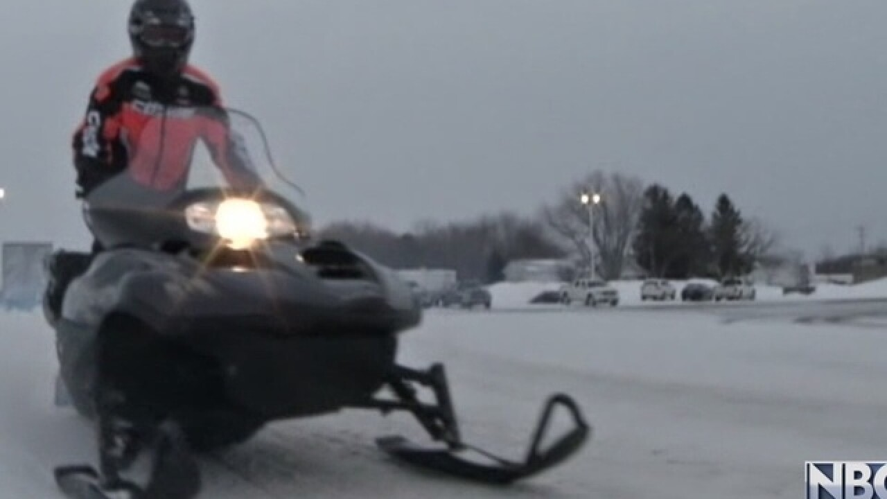 Snowmobiler rescued from Lake Winnebago waters