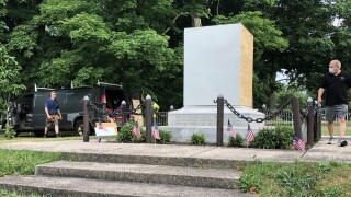 City of Buffalo removes Christopher Columbus statue
