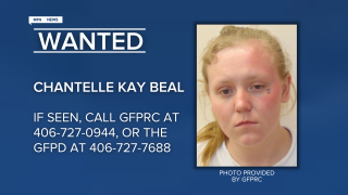Chantelle Kay Beal has been reported as as an escapee/walkaway from the Great Falls Pre-Release Center