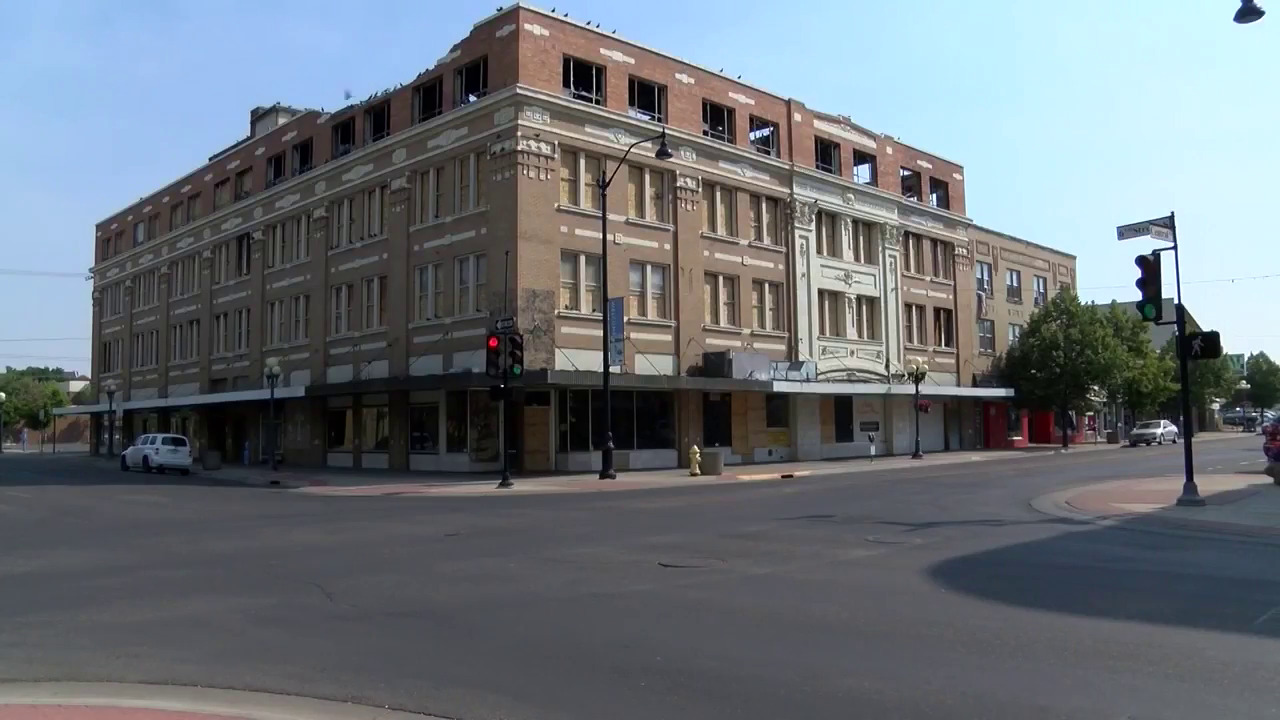 The former Rocky Mountain Building in downtown Great Falls