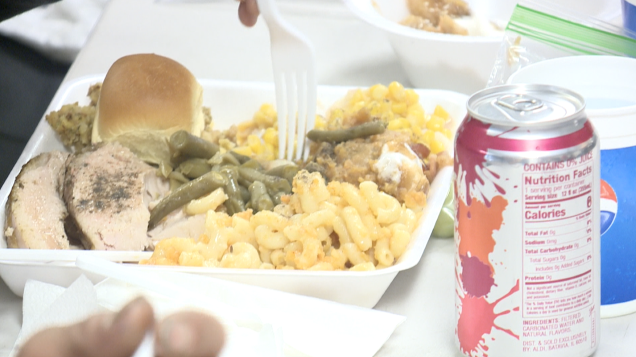 Judeo-Christian Outreach Center serves up Christmas Eve lunch for more than 100 people