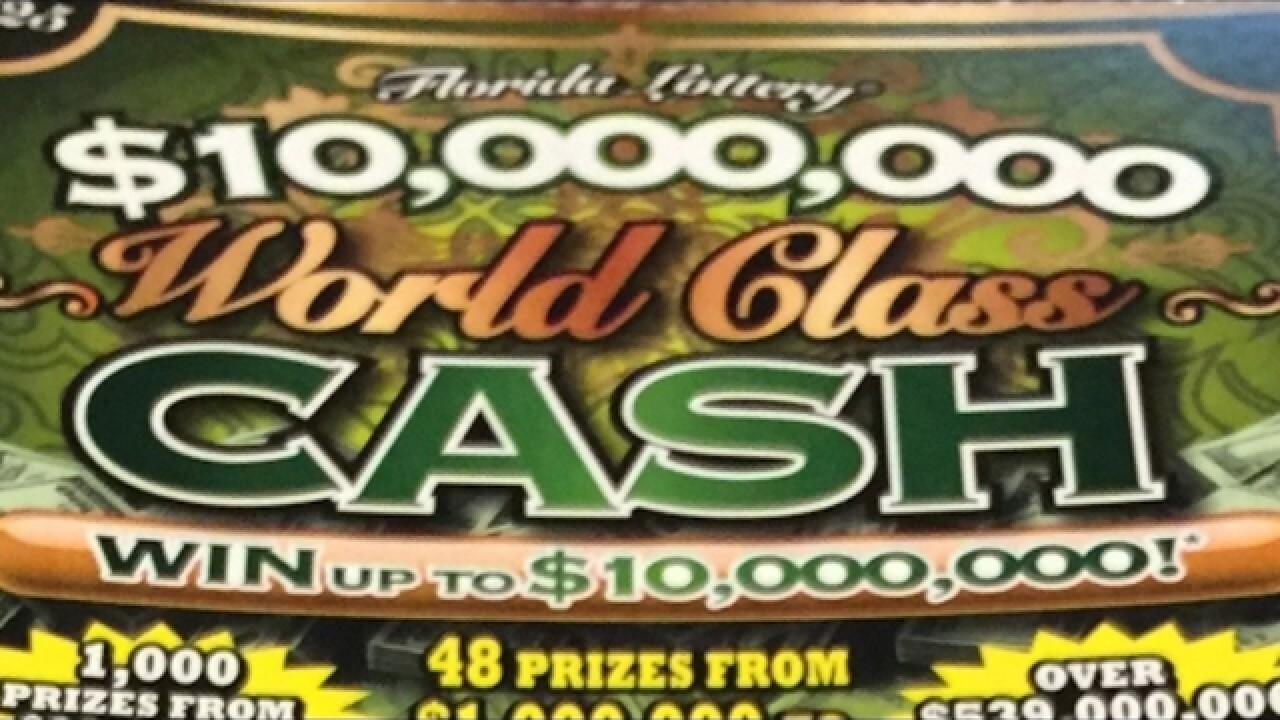 $1 million lottery ticket sold in Cape Coral