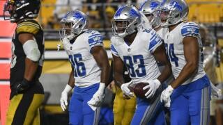 Javon McKinley Lions Steelers Football