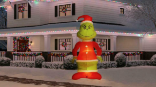 Home Depot Is Selling A 10-foot-tall Inflatable Grinch