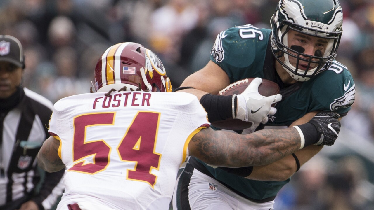 'Skins Scoop: Redskins part ways with leading tackler Mason Foster